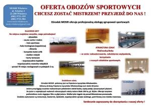 Oferta obozów sportowych