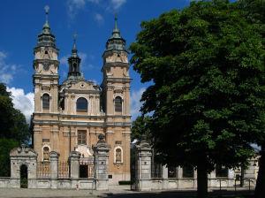 Włodawa_zespół_klasztorny_paulinów_kościół,_ob._par._p.w._św._Ludwika,_mur.,_XVIII_01_JoannaPyka