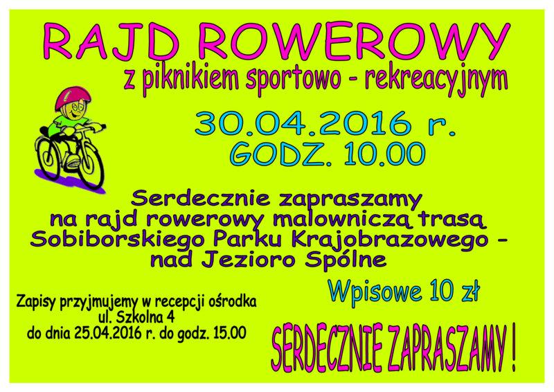 rajd rowerowy 30.04.2016 (1)