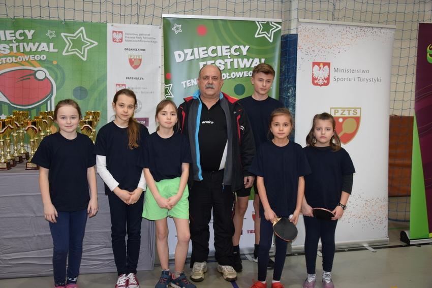 Dziecięcy Festiwal Tenisa Stołowego | MOSiR we Włodawie